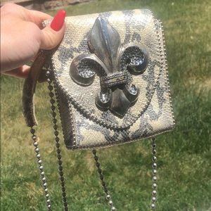 Leather ROCK  bag!
